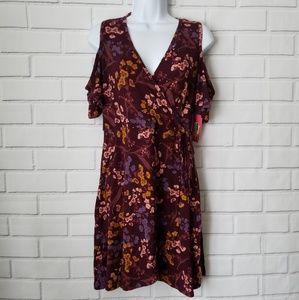 Xhilaration women's multicolored dress